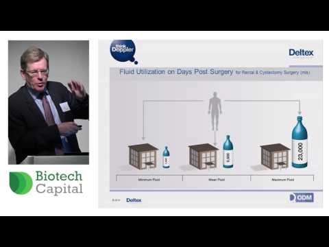 Deltex Medical boss Ewan Philips presents at Biotech Capital Conference