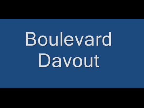 Boulevard Davout Paris Arrondissement  20e