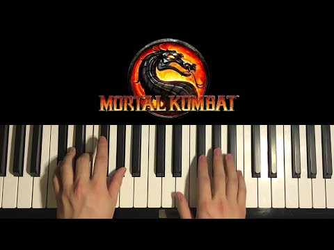 How To Play - MORTAL KOMBAT Theme Song (PIANO TUTORIAL LESSON)