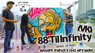 Tokyo Style Urban Artist - WAAAPS Artwork