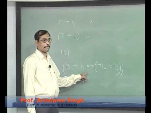 Mod-01 Lec-02 Lecture-02-Syntax of Propositional Logic