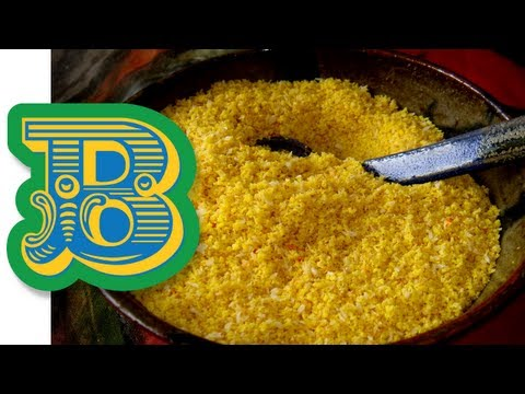 Golden Brown Brazilian Farofa Recipe