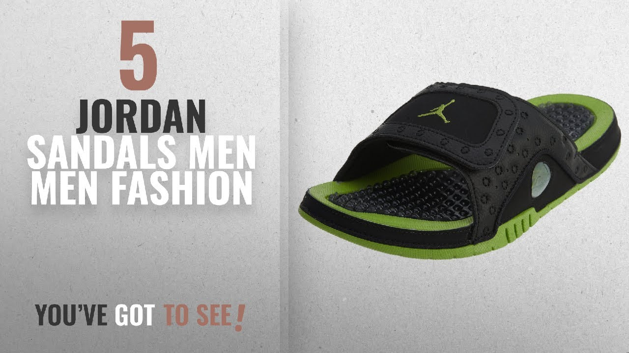 9778a0e0cdd82 Top 10 Jordan Sandals Men  Men Fashion Winter 2018    Jordan Men ...