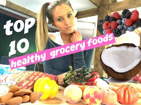 HEALTHY EATING GROCERY SHOPPING LIST nutrition tips and foods that make losing weight easy