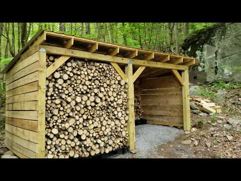 DIY Wood Shed 2 Stall Project