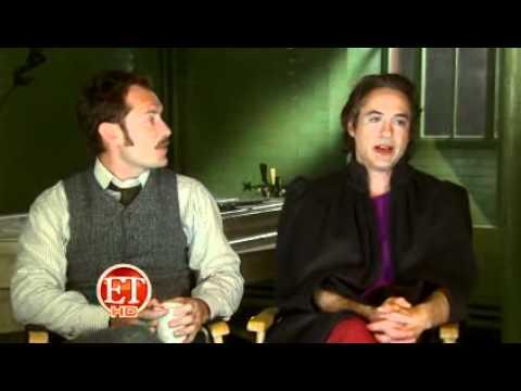 Behind the scenes of Sherlock Holmes 2