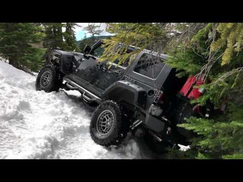 The Last Spring Snow Wheeling Trip of 2017.