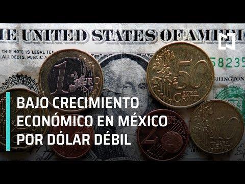 Prevén bajo crecimiento económico en México por debilidad del dólar - Las Noticias