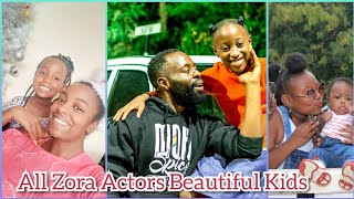 Zora Actors With their kids in Real life😍😱
