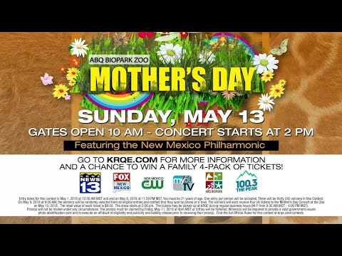 Albuquerque BioPark Mother's Day Concert at the Zoo