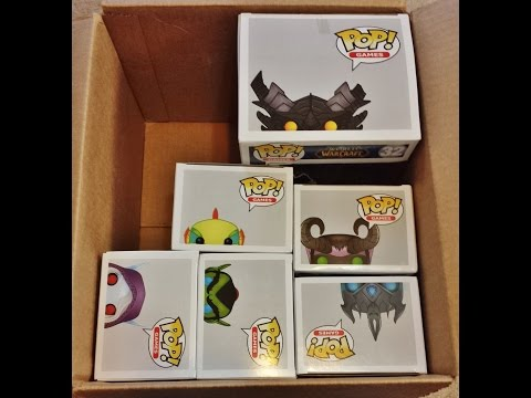 WORLD OF WARCRAFT FUNKO POP COLLECTION