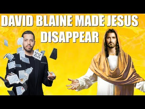 Brilliant Idiots: David Blaine Made Jesus Disappear