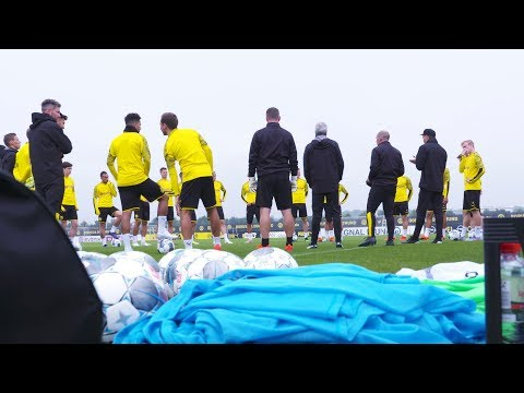 Reus, Sancho & Co. are back! | Black and Yellow Training Session at BVB
