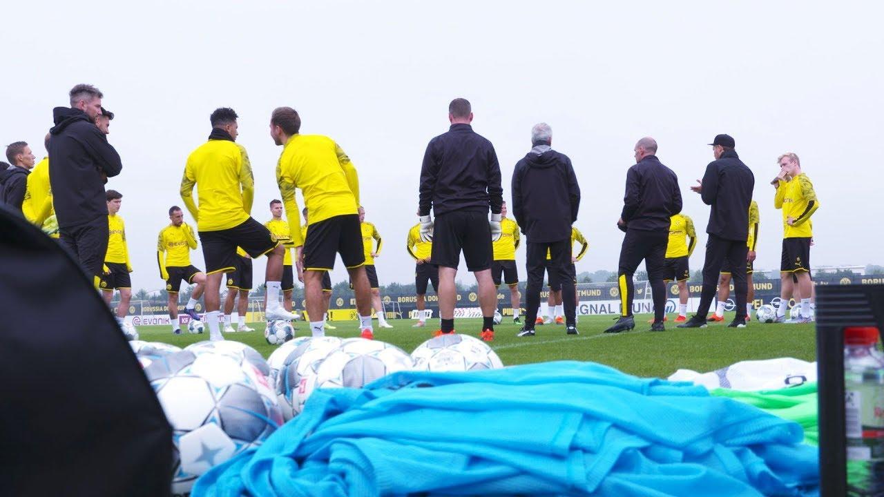 Reus, Sancho & Co. greifen wieder an! |Schwarzgelbe Trainingseinheit beim BVB