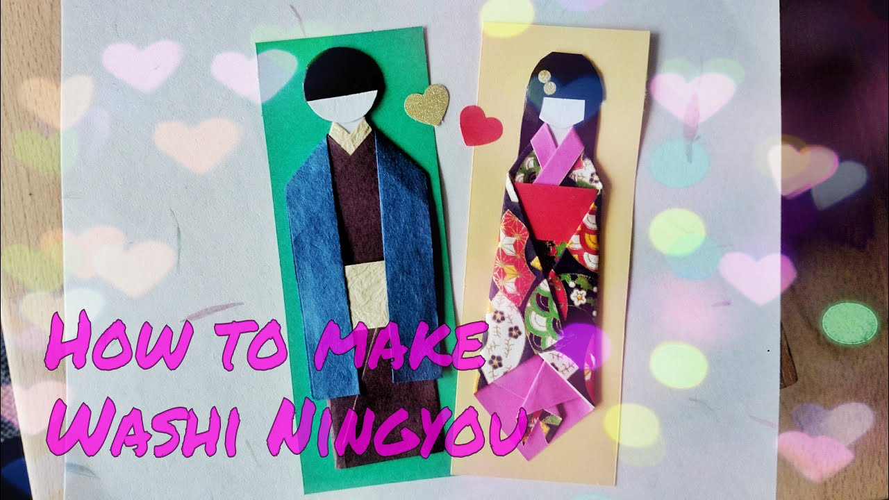 Japanese Male Paper Doll Tutorial