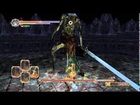 King Vendrick VS King Vendrick - Boss Fight - Dark souls 2