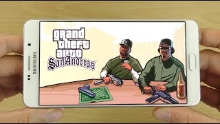 Samsung Galaxy A9 Gameplay Review - GTA San Andreas!