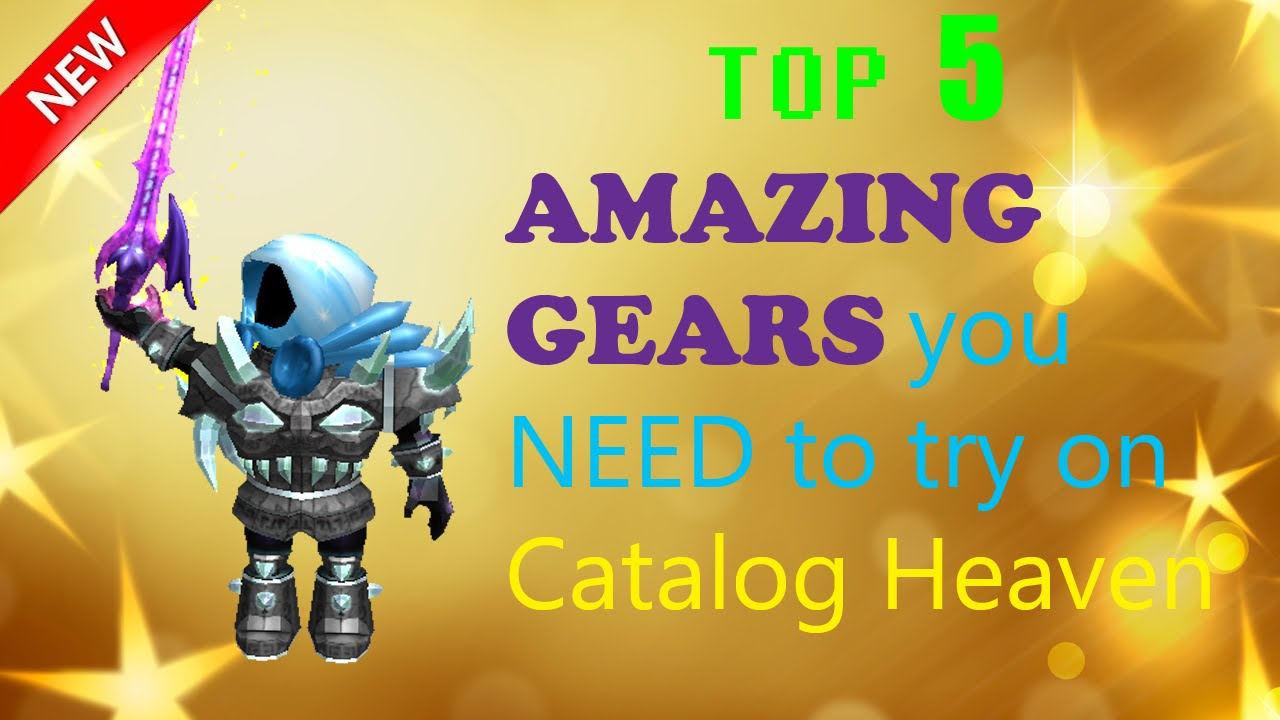 Roblox Top 5 Amazing Gears On Catalog Heaven Not Overused Youtube