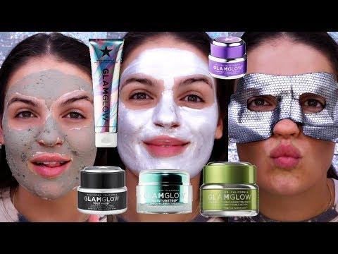 Glam Glow Skincare & Multi-Masking Routine
