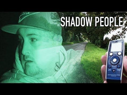 TORMENTED BY SHADOW PEOPLE GHOSTS OF ROADS!