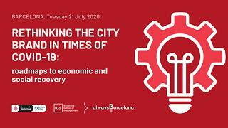 #RethinkingCityBranding || The New Agility, Cities, COVid19, and the DNA of Cities || by Greg Clark