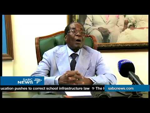 Robert Mugabe speaks out