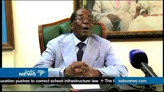 Robert Mugabe speaks out