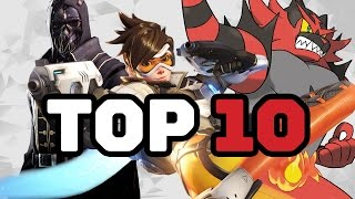 Top 10 Games of the Year (2016)