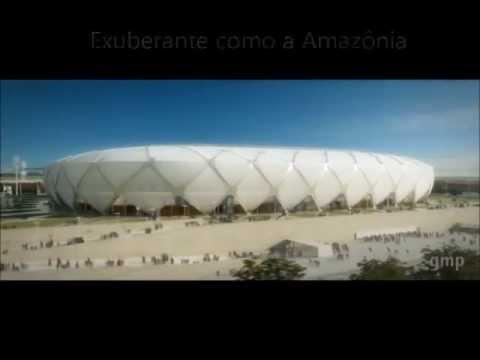 Arena da Amazônia (Maquete Eletrônica) Copa do Mundo Fifa Brasil 2014 - Manaus