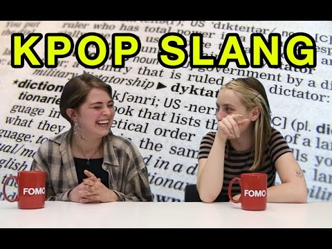 Essential Vocab: Kpop Slang