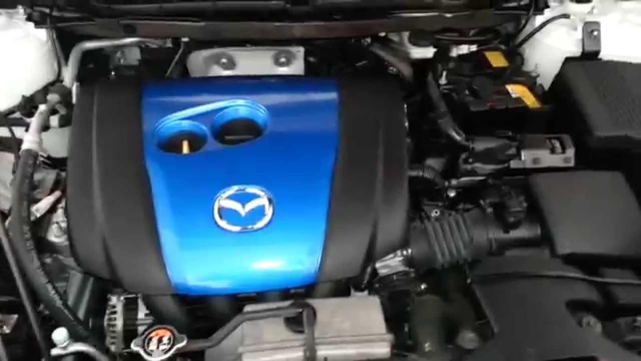 2013 Mazda CX-5 SUV - 2.0L I4 Engine Idling After Oil Change & Spark