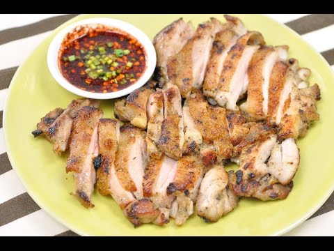 Thai Grilled Chicken (Thai Food) – Gai Yang ไก่ย่าง