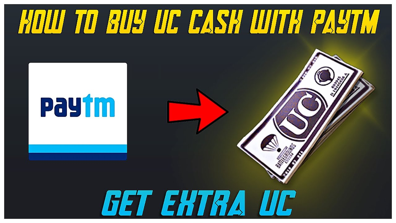 HOW TO BUY UC CASH WITH PAYTM IN PUBG MOBILE | GET EXTRA UC !!
