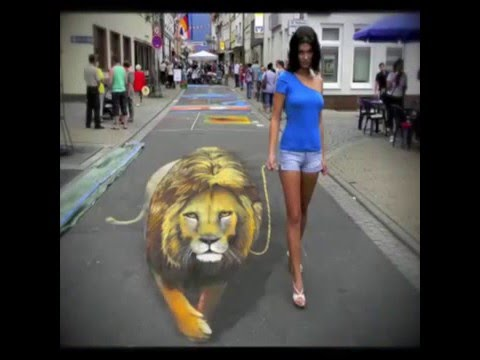 Amazing Road Art (Road 3D painting)