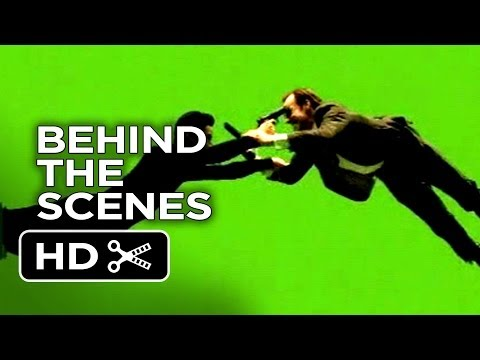 The Matrix Behind The Scenes - Subway Fight (1999)  - Keanu Reeves Movie HD