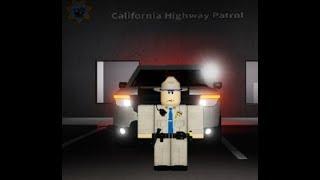 Roblox CHP, First supervisor Patrol.