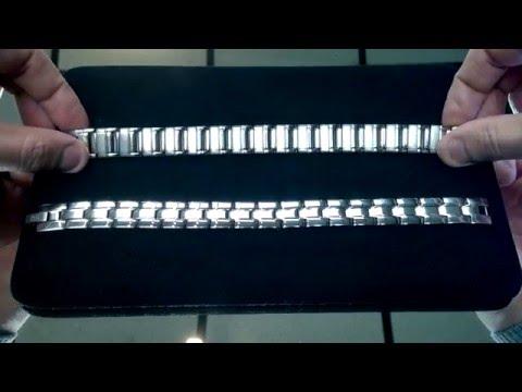 Как определить стальной браслет от титанового