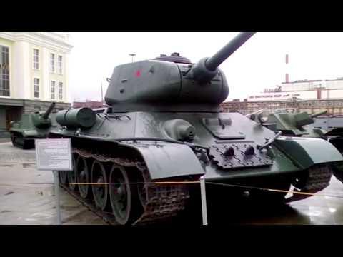Музей военной техники Верхняя Пышма г. Екатеринбург. Часть 1