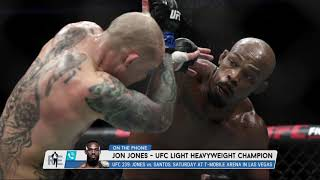 UFC Light Heavyweight Champion Jon Jones on a Possible Daniel Cormier Rematch | The Rich Eisen Show
