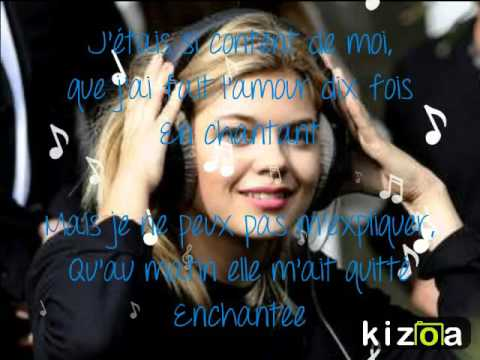 Louane-En Chantant (Paroles)