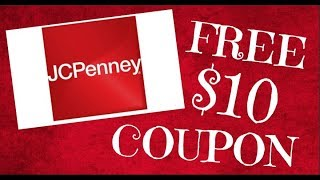 Video Free $10 JCPenney Coupon download MP3, 3GP, MP4, WEBM, AVI, FLV Juni 2018