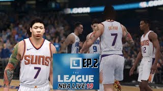 40pts in My NBA Debut -  Nba Live 19 The League Ep. 2