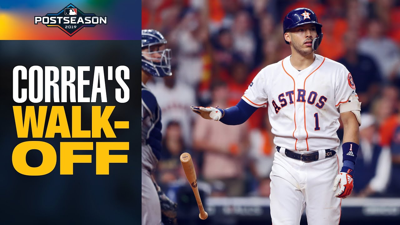 Carlos Correa's INSANE WALK-OFF to win game for Astros in ALCS Game 2