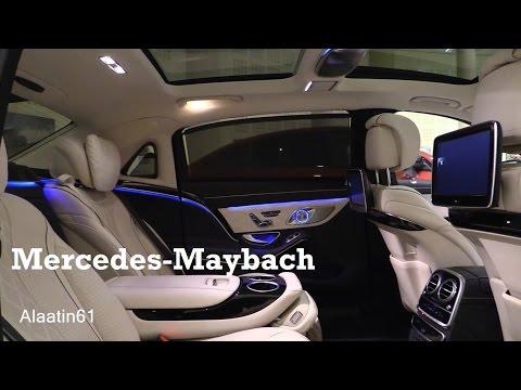 2017 Mercedes Maybach - interior Review