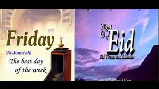 Divine Gifts of Friday & the Night of Eid - Friday Khutba in North Raleigh Masjid, Abdallh Khadra