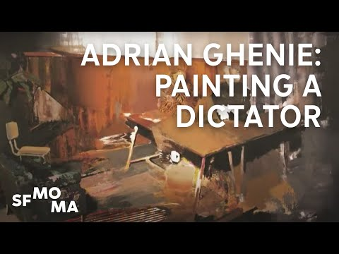Adrian Ghenie: Painting a dictator in the moment before his execution