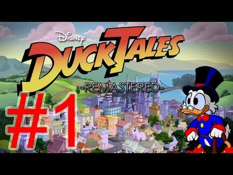 Ducktales Remastered Walkthrough part 1 of 3 Let's play gameplay HD walkthrough no commentary