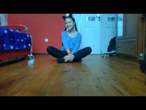 Видео урок / Как сесть на шпагат / Angel Pay ♥ ♥ ♥