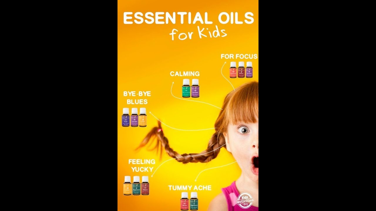 Best Essential Oils For Kids To Focus