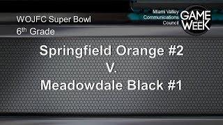 Pee Wee Super Bowl 6th Grade